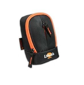 Port Designs Ushuaia Etui pour appareil photo Noir/Orange