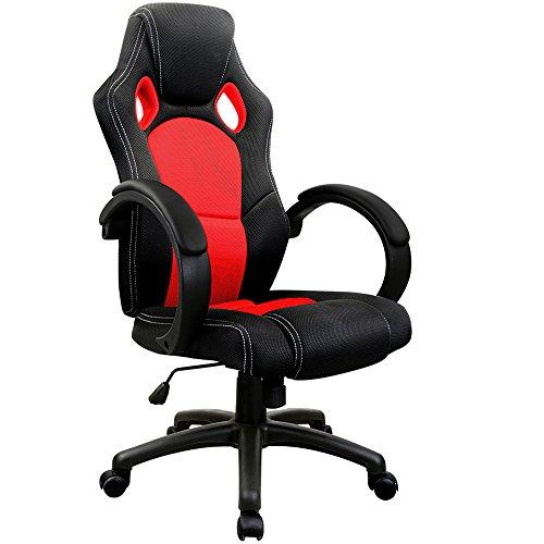 Acheter chaise de bureau sport fauteuil siege baquet for Acheter chaise de bureau