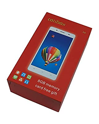 "Calibarr A6 5"" 1.6 Quad Core High Performance 3G Dual SIM Smart Phone-White"
