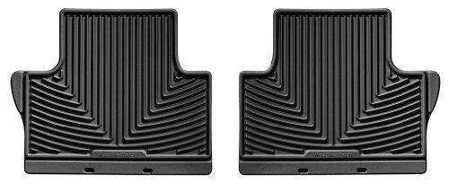 WeatherTech W170 Black All-Weather Rubber Floor Mat (Weathertech Floor Mats Volvo Xc70 compare prices)