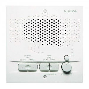nutone nps103wh outdoor remote station retrofit for 3 wire intercom systems white