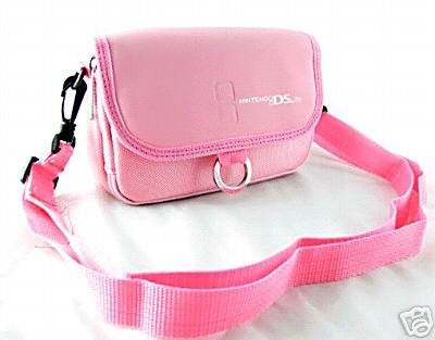 Nintendo DSL / DS Lite Carry Case / Bag plus Game Storage in Pink