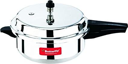 Butterfly C1860A00000 Aluminium 5.5 L Pressure Cooker
