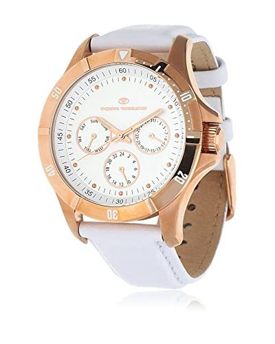 TOM TAILOR Reloj de cuarzo 5411703 Blanco 42 mm