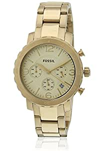 Fossil AM4422 Natalie Stainless Steel Watch Gold-Tone