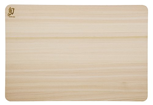 Shun Dm0817 Hinoki Cutting Board, Large
