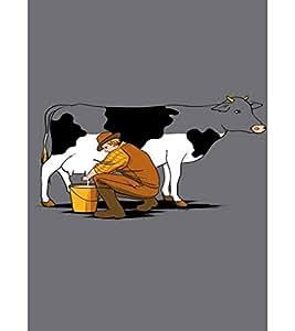EPICCASE Cow milk Mobile Back Case Cover For LG Pro Lite (Designer Case)
