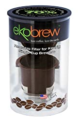 Ekobrew Cup, Refillable Cup for Keurig K-cup Brewers, Brown, 1-Count from ekobrew