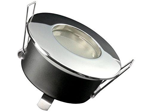 LED-Einbaustrahler-Ultra-flach-RW-1-rund-chrom-glnzend-fr-Bad-Feuchtrume-IP-65-inkl-5W-LED-Modul-neutralwei-4000K-fr-230V-ohne-Trafo-Tolles-Design-Leuchtmittel-wechselbar-schmutz-wasserfest