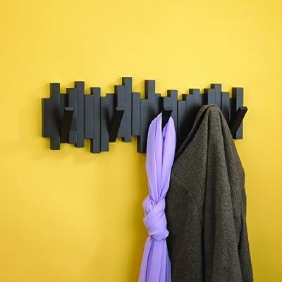 Umbra designer sticks 5 hook wall mounted