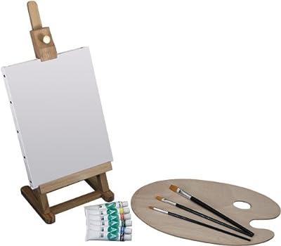 Art Advantage Mini Easel Acrylic Paint Set