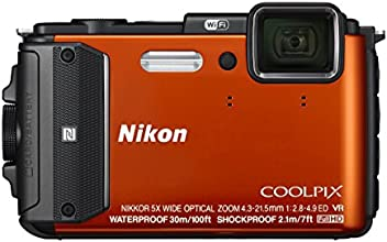 Nikon デジタルカメラ COOLPIX AW130 オレンジ