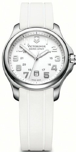 Womens Watches VICTORINOX OFFICER´S 125 LADY ES. BLA CORREA CAUCHO V241366