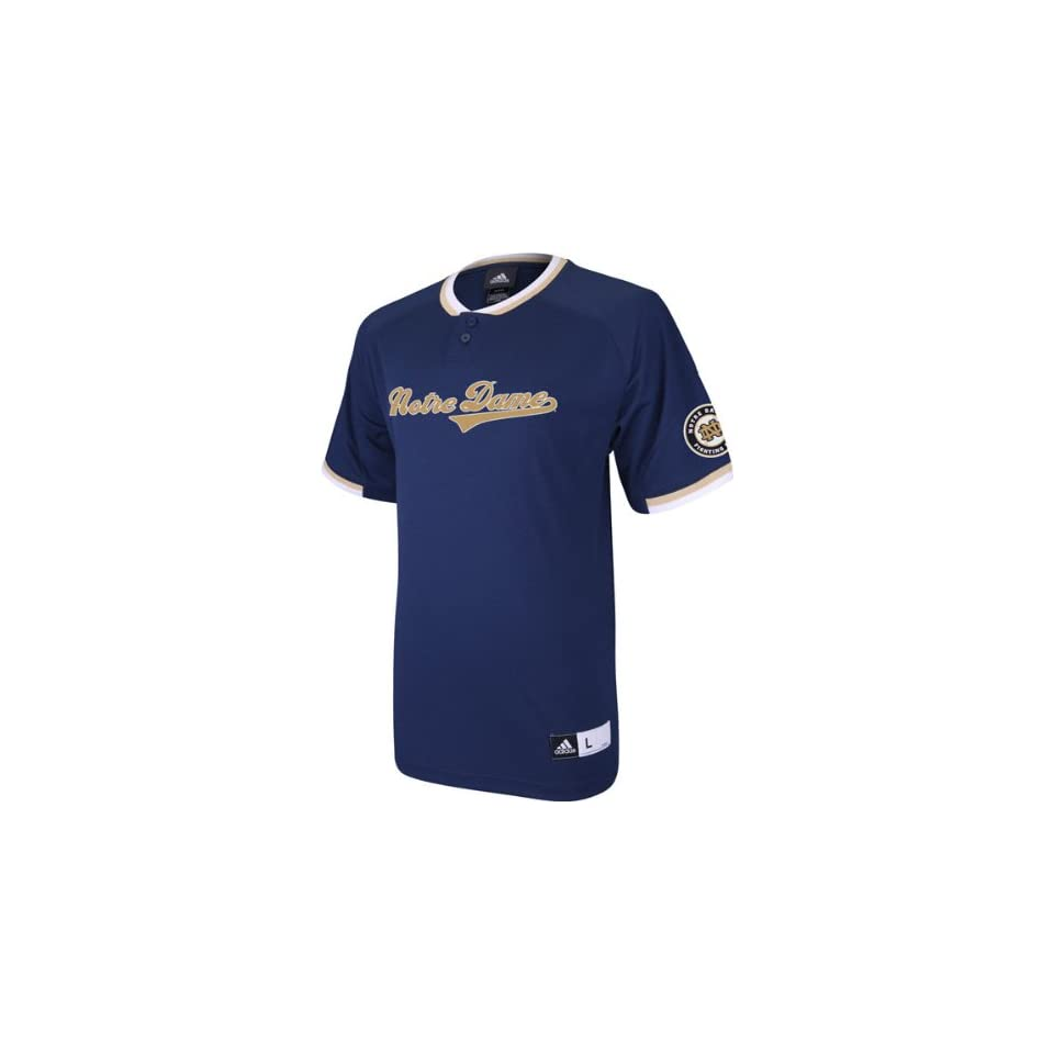 7b0db233801 Notre Dame Navy adidas Batting Practice Baseball Jersey on PopScreen