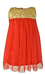 Faye Red & Gold Sequin Party Dress 12-18 M