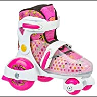 Roller Derby Youth Girl's Fun Roll Adjustable Roller Skates - 1959