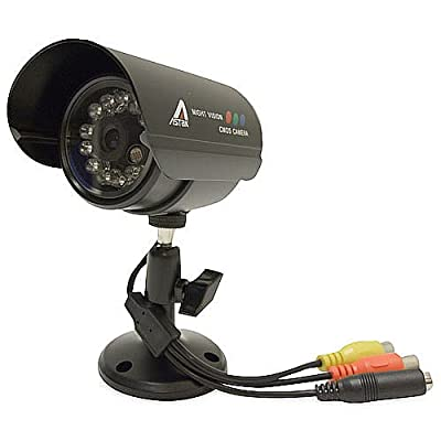 Astak CM-818W Wired Security and Surveillance Camera for Interference-Free Monitoring