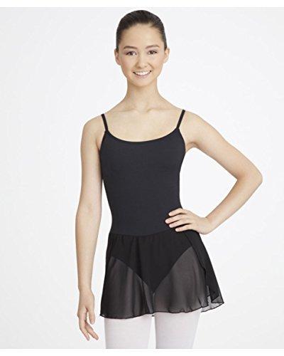 DanceConnexxion Ballettkleid mit angenähtem Chiffonrock und verstellbaren Trägern für Mädchen