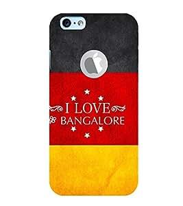 EPICCASE I luv bangalore Mobile Back Case Cover For Apple iPhone 6, 6S Logo Cut (Designer Case)