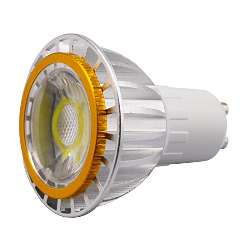 Grexistar 3W Gu10 Cob Green Led Spot Light Cool White High Bright Energy Saving