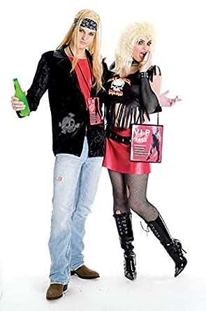 Amazon.com: Paper Magic Trainwreckz Rock Lover Costume: Adult Sized