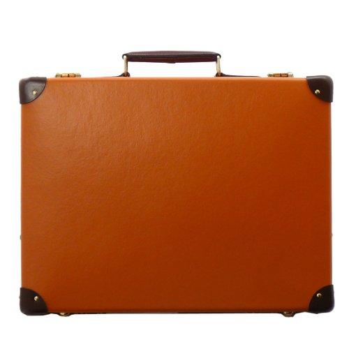 """(グローブトロッター) GLOBE TROTTER アタッシュケース(16インチ) センテナリー オレンジ×タン SLIM ATTACHE CENTENARY 16"""" ORANGE/TAN [並行輸入品]"""