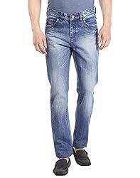 Fever Men's Jeans (60106-2-42_Light Blue)