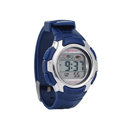 Mingrui 30M Water-Proof Digital Boys Girls Sport Watch With Alarm Stopwatch Chronograph Dark Blue