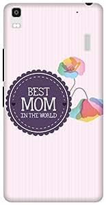 The Racoon Lean printed designer hard back mobile phone case cover for Lenovo K3 Note. (Best Mom)