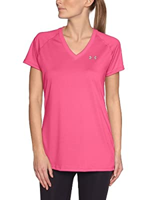 Under Armour UA Tech SS V-Neck Women's T-Shirt by Under Armour