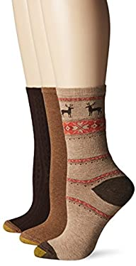 Gold Toe Womens Nordic Deer Winter F…