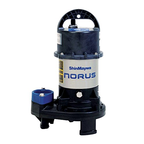 ShinMaywa 50CR2.15S Norus Series 3300 GPH1/5HP Waterfall Pump