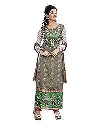 Maruti Suit Women's Viscose Suit Material (M1005, Grey, Free Size)