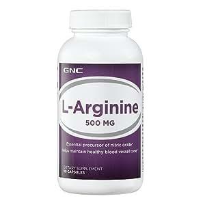 Amazon.com: GNC L-Arginine 500 MG 90 Capsules: Health ...