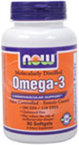 Molecularly Distilled Omega-3 1000 Mg 90 Softgels