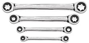 GearWrench 9224 4 Pc Torx Ratcheting Wrench Set