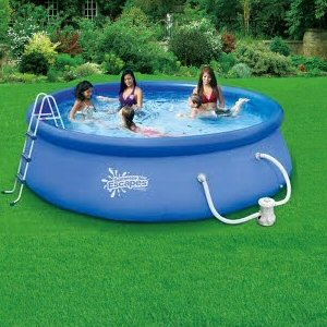 Quick set ring pool 12 39 x 36 with 580 gph for Above ground pools quick set
