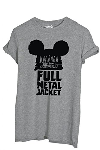 T-SHIRT FULL METAL JACKET MICKEY MOUSE-MOVIE by MUSH Dress Your Style Uomo-L