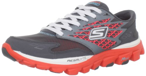 Skechers GO Run Ride Sports Shoes - Fitness Womens Gray Grau (CCCL) Size: 7 (41 EU)