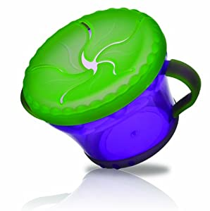 Nuby Snack Keeper, Colors May Vary