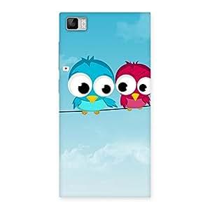 Premium Birds on Wire Back Case Cover for Xiaomi Mi3