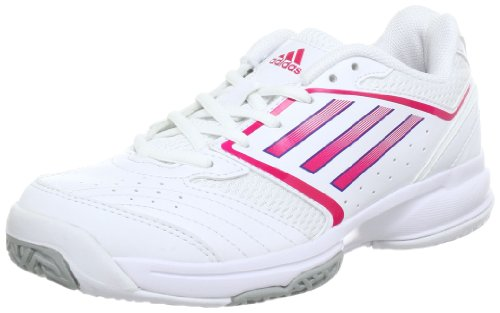 Adidas Performance Men's White/Pink AT 120 Gymnastics Shoes 5 UK