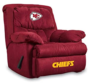 NFL Kansas City Chiefs Home Team Microfiber Recliner by Imperial