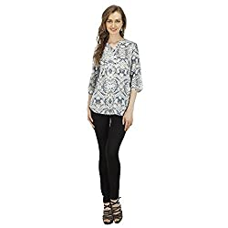 Splendent Women's Plain Printed Top/Shirt for Women, Half Sleeves Shirt For Women, Ladies Casual Summer Tops/Tee Shirts/Blouses/Tunics for Women