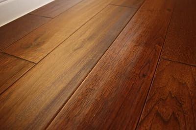 "Elk Mountain Hickory Wild 3/4"" x 5"" Hand Scraped SOLID Hardwood Flooring NH204 SAMPLE"