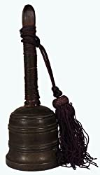 Antique Bell / Japanese / Bronze / Shinto Shrine Bell