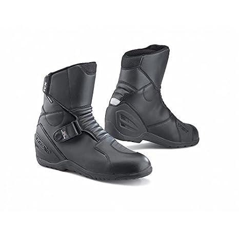 TCX X-Miles Waterproof Paire de Demi-bottes Moto Noires