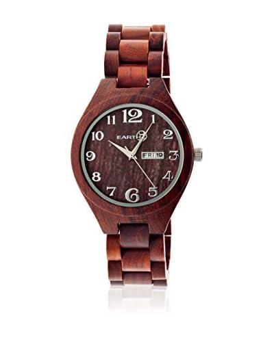 Earth Wood Watches Reloj con movimiento cuarzo japonés Unisex Sapwood 41.0 mm