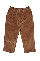 Chirpie Pie by Pantaloons Boy's Regular Fit Trouser(205000005610747, Beige, 12-18 Months)