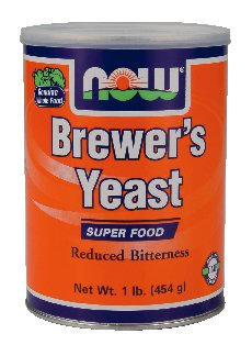 NOW Foods Brewer's Yeast, 1 Pound (Pack of 2)